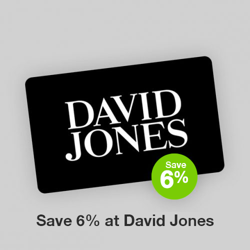 David Jones Discount Gift Card