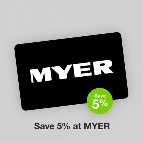 Myer Discount Gift Card