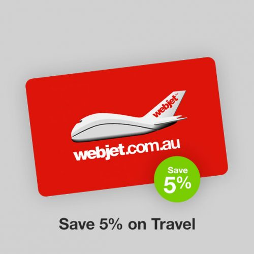 Webjet Discount Gift Card