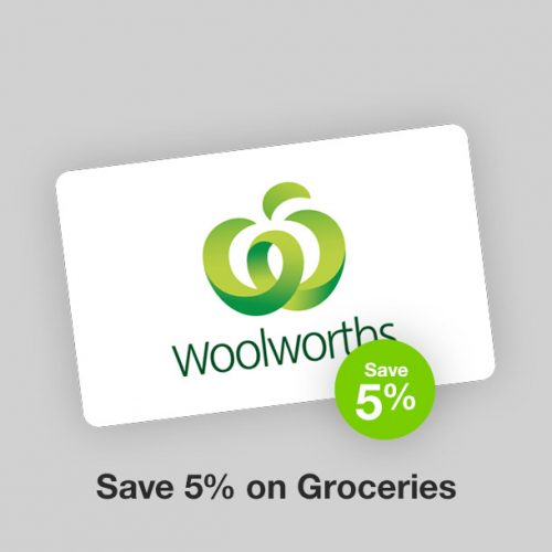Woolworths Discount Gift Card