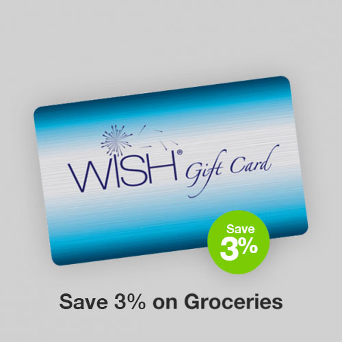 WISH Gift Card Discount Gift Card