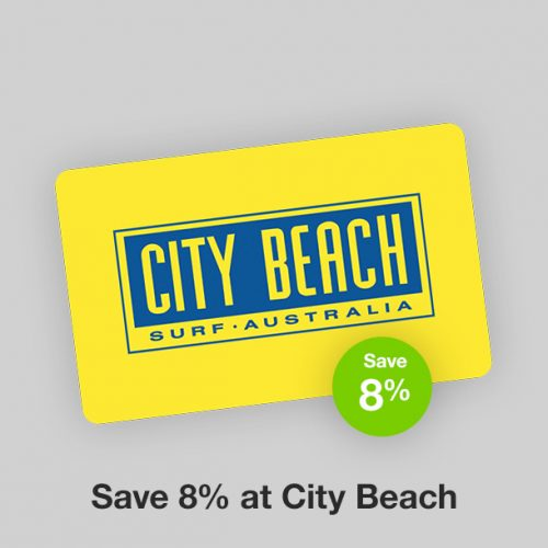 City Beach Discount Gift Card