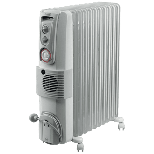 DeLonghi 2400W Oil Column Heater with Timer – DL2401TF: $128
