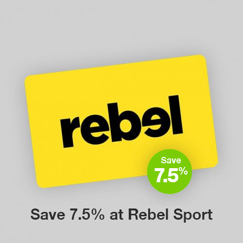 Rebel Sport Discount Gift Card
