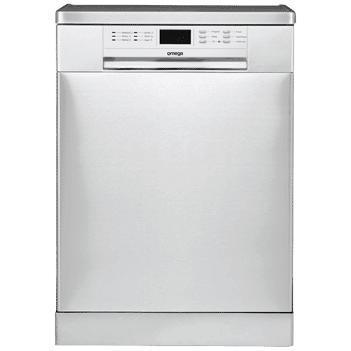 Omega Stainless Steel Freestanding Dishwasher – ODW702X: $407