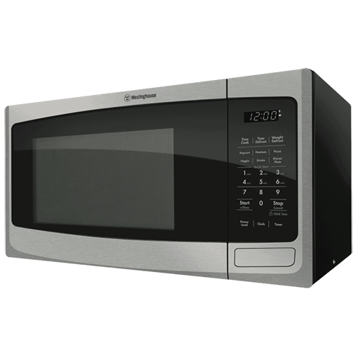 Westinghouse 23L 800W Stainless Steel Microwave – WMF2302SA: $110