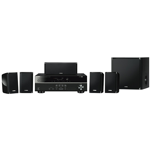 Yamaha 5.1Ch Home Theatre Pack – YHT-1840B: $367