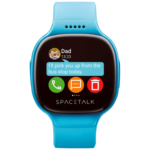 Spacetalk Kids Watch with Phone and GPS (Teal) – SP-1005T: $223