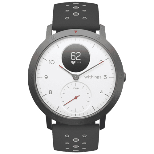 Withings Steel HR Sport Fitness Watch (White) – HWA03BWHITESPORT: $233